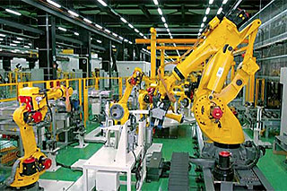 Automated assembly of ROBOTs